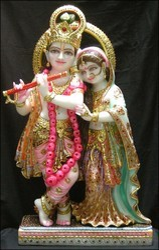 Radha Krishna Jodi Statue