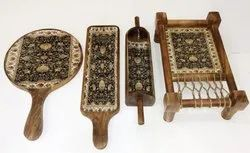 Wooden Serving Combo Charpie Set