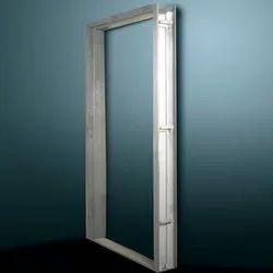 Steel Silver Door Frames
