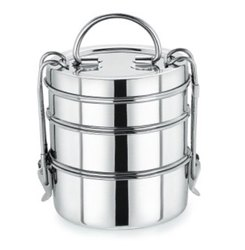 Stainless Steel Clip Tiffin