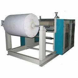 Semi Automatic Toilet Paper Roll Making Machine