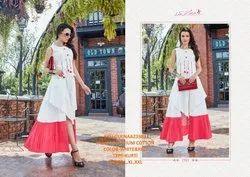Rachna Premium Cotton Pattern Cut Work Gulnaz Catalog Kurti For Women 3