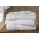 White And Microfiber Hospital Towels