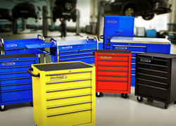 5 Drawers Blue Point Tools Trolley