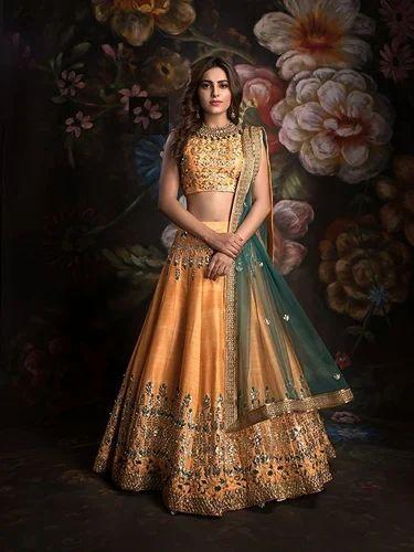 5760b22d8c491 Women Bridal Lehenga. at Rs 3300  piece
