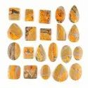 Natural Bumble Bee Jasper Plain Cabochon in Assortment Gemstone For Jewellry Making