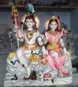 Hindu Lord Shiva Marble Statue