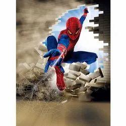 Mpro-Tech Kids Room Spider Man PVC Vinyl Wall Sticker