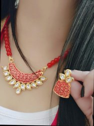 Designer Trendy Kundan Necklace