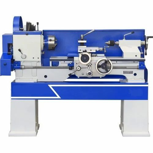 Cone Pulley Lathe Machines, Range of Spindle Speeds: 8, 1 Hp