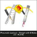 9 Holes Straight Pneumatic Lockout