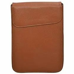 Tan 100% Pure Genuine Sheep Nappa Leather Car Documents Holder Case