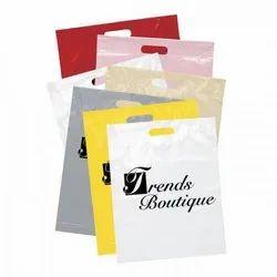 D Cut Printed Plastic Carry Bag