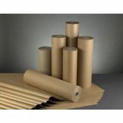 Brown Kraft Paper Roll, GSM: 80-220