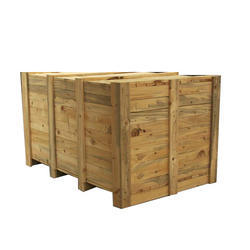 Wooden Packing Case, Capacity: 100-700 Kg