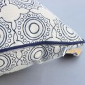 Ryon Velvet Mandala Block Print Cushion Cover Bohemian Mandala Print Sofa Throw Pillow Covers