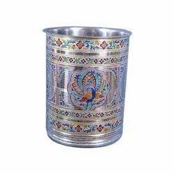 Palak Handicraft Handicraft Meenakari Glass