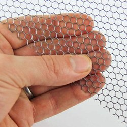 Hexagonal Mild Steel Wire Mesh
