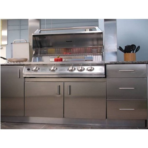 Stainless Steel Kitchen Cabinet at Rs 4500 /piece | Stainless Steel ...