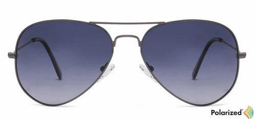 814ead2aed8 Men Sunglasses - Golden Black Blue Gradient Full Rim Aviator Medium Sunglass  Retailer from Hyderabad
