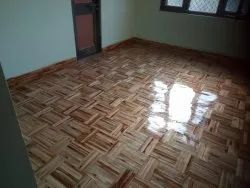 38MM Teak Wooden Block Flooring