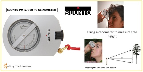 Suunto Altimeter Clinometer