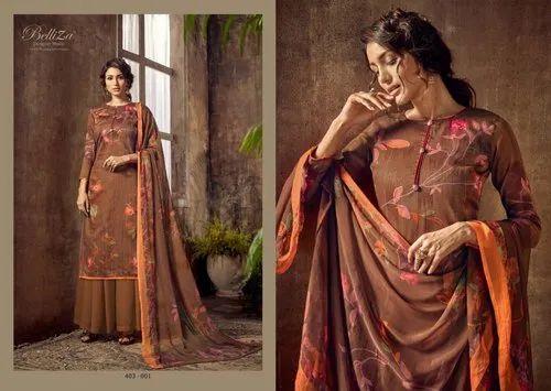 Nazar By Beliza Designer Studio Cotton Salwar Suit