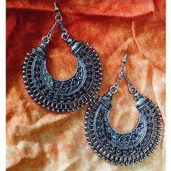 Hoop Oxidized Earrings