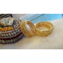 Agg Wedding Wear Gold Plated Bangles