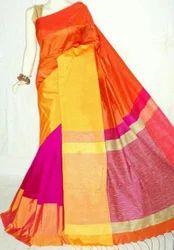 Half n Half Light Weight Silk Saree