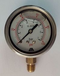 Top Or Bottom Mounted Eco Pressure Gauge