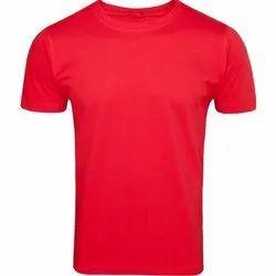 250 GSM Mens Plain Round Neck T Shirts