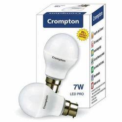 Crompton Round LED Pro Bulb, Power: 7 W