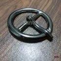 Mild Steel Oval Buckles Black Nickel