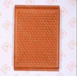 Terracotta 1.3 Nos Per Sqft Ceiling Tile - Button, Size: 12 x 8