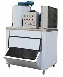 1 Ton /Day Ice Flake Machine With Ice Storage