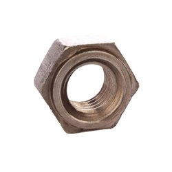 Chrome Finish Hexagonal Stainless Steel Weld Nut, Size: 0.5 To 10 Inch