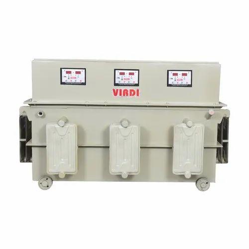 Three Phase Variac Type Servo Voltage Oil Cooled Stabilizer (