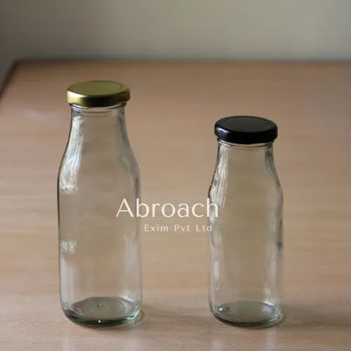 Glass Juice Bottle for Catering Supply