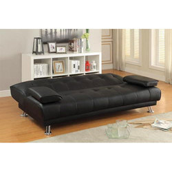 Black Convertible Sofa Bed