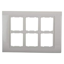 G2 White Modular Switch Plates, Plate Module Size: 12