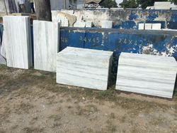 Indian Marble White kishangarh tapa, For Flooring, Thickness: 15 To 16 Mm