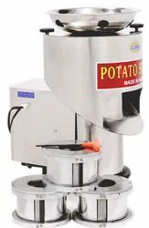 Devika Potato Slicer Machine, Warranty: 6 Months