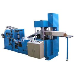 Semi Automatic Napkin Making Machine