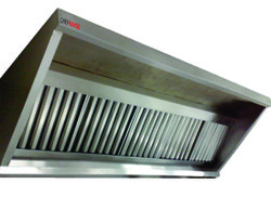 SS Kitchen Exhaust Hoods With Filter