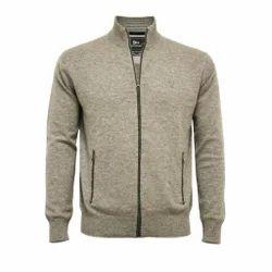 Stand Collar Zipper Sweater