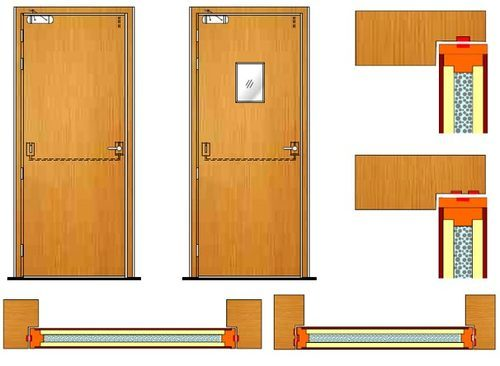 Standard Wooden Fire Rated Door