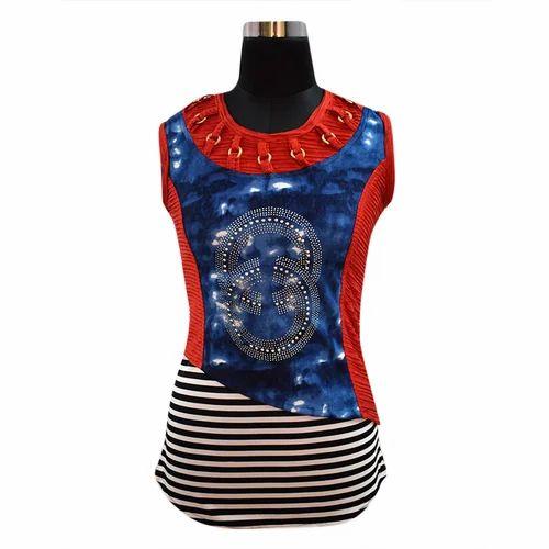 17c5b38fc27 Multicolor Casual Ladies Stylish Top