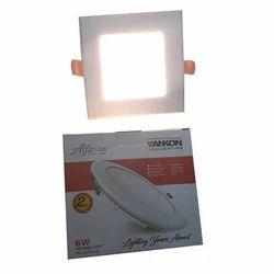 Vankon Cool White LED Panel Light, 6 W