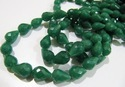 Emerald Tear Drop Beads